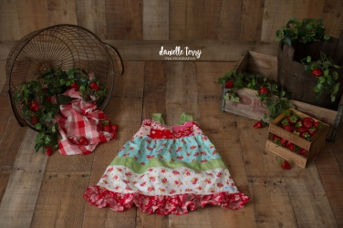 Strawberry Session Dress-2