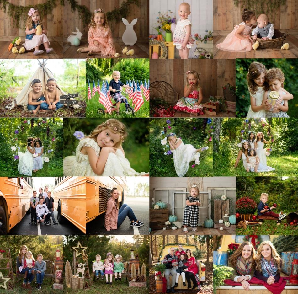 minis collage